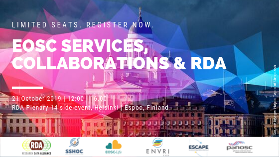 EOSC Services, Collaborations and RDA