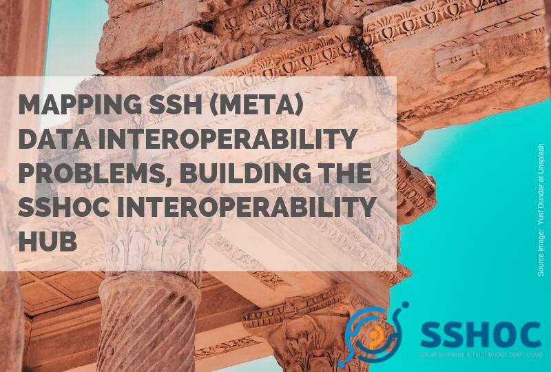 Mapping SSH (Meta)data interoperability problems, building the SSHOC interoperability hub